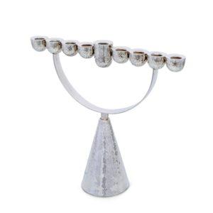 מנורת החשמונאים - הֶמִיסְפֶרות רגל קונוס מִקְשֶּׁה